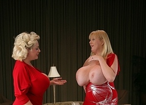 Claudia Marie Fake Tits With Kayla Kleevage