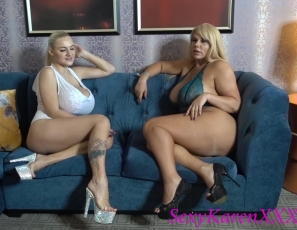 Girl Time With Huge Fake Tit Dolly