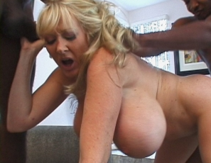"Kayla Kleevage, Billy and Silvio ""Fuck My Big Milk Cow Tits"